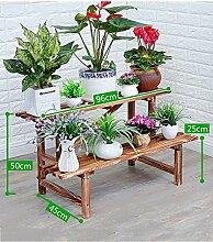 ZHANWEI Blumenständer Korrosionsschutz Verkohlung