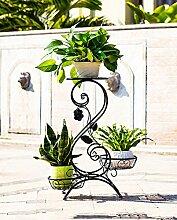 ZHANWEI Pflanzentreppe Creative Flower Rack, Balkon Mehrstöckige Indoor Blumentopf Regal Blumenständer ( Farbe : B , größe : 55cm )