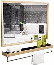 Zhao Li Badspiegel Badezimmerspiegel mit Ablage