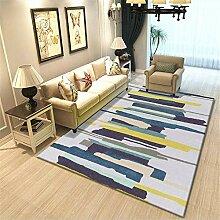 ZHAO Teppiche Korridor Grau, Blau Teppich mit