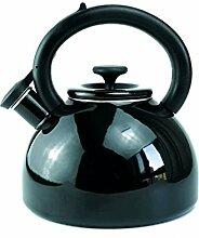 ZHAOJING Emaille Gas Wasserkocher 2,5 L Pfeife