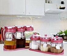 ZHAOJING Küche Glas Gewürzbehälter