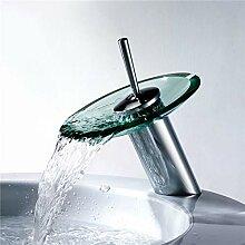 ZHAOSHOP Poliertem chrom wasserfall auslauf bad