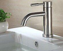 ZHAOSHOP Wasserhahn alle Edelstahl Waschbecken