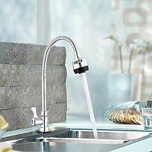 ZHAOSHOP Wasserhahn einzigen kalten waschbecken