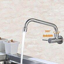 ZHAOSHOP Wasserhahn Küche einzigen kalten
