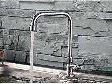 ZHAOSHOP Wasserhahn Küchenarmatur Bad Kupfer