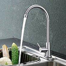 ZHAOSHOP Wasserhahn Küchenarmatur Edelstahl