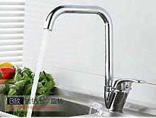 ZHAOSHOP Wasserhahn Küchenarmatur heißen und
