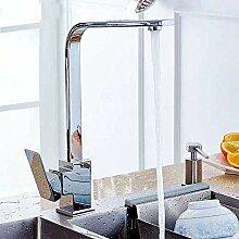 ZHAOSHOP Wasserhahn Set Kupfer Quadrat Quadrat