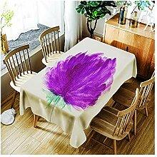 ZHAOXIANGXIANG Farbe Floral Tischdecke