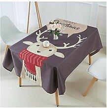 ZHAOXIANGXIANG Weihnachten Tischdecke Stilvolle