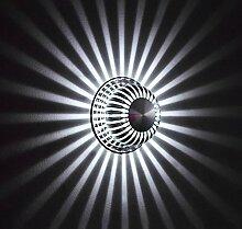 ZHAS 1-W-LED Wand innen Einfache Aluminium