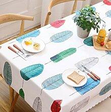 ZHAS Card Love Kindertischdecke Tischdecken PVC
