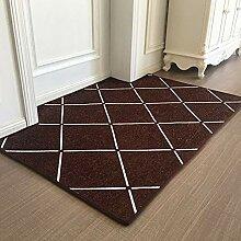 ZHAS Fußmatten Fußauflage Teppich Wohnzimmer