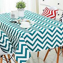 ZHAS Geometrie gelben Streifen ovale Tischdecke Couchtisch Tuch Leinwand Bilder Kunst und Literatur Tischdecke Tischdecke wählen (Farbe: #3, Größe: 60*60 CM)
