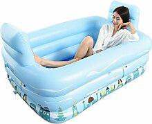 ZHDC® Aufblasbare Badewanne, Schwimmbecken für
