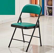ZHEDIEYI Klappstuhl Bürostuhl Konferenzstuhl Computerstuhl Schulstuhl Haushalt Student Dining Stuhl Hocker Sessel Dorm Stühle (Farbe : #11)
