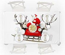 Zhen+ Tischdecke Weihnachten Tischtuch