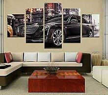 ZhenFa Fünf gemeinsame Auto Collage rahmenlose 5
