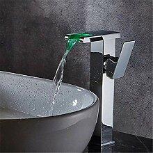 Zhengpingpai Badezimmer-LED Wasserfall Waschbecken
