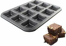 ZHENGRONG Brownie-Backform mit Guter