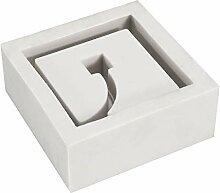 ZHENWOFC Silikon Beton Blumentopf Form 3D