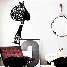 zhenyifan996 Dekoration Vinyl Kunst Afrika Frau