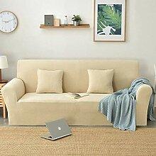 ZHENYUE Stretch Fleece Sofa Abdeckung, Polyester
