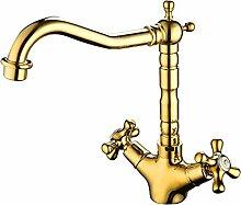 ZHFC- -alle kupfer antik hochwertige wasserhahn