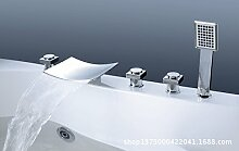 ZHFC- -alle kupfer badewanne wasserhahn rand art