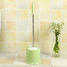 ZHFC bad wc bürste wc waschen die klobürste lange mit pinsel dekontamination base sauber weichen pinsel bürstenset,um grüne