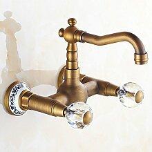 ZHFC- -kalt - und warmwasser tap tap antike