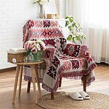 ZHguatan Tapestry Sofa Handtuch Wandbehänge