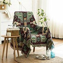 ZHguatan Tapisserie Sofa Handtuch Wandbehänge