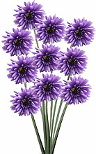 Zhhlaixing 10 Pcs Artificial Simulation Daisy Silk Flowers Wedding Party DIY Zuhause Decor