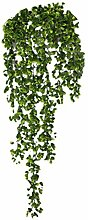 Zhhlaixing Artificial Vine Faux Leaf Garland Plants Fake Foliage Green Decor for Garden Wedding