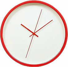 Zhhlaixing Elegant Silent Non-ticking Simple Quartz Wall Clock Home Wall Clock