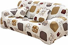 Zhhlaixing Fashion Printing Elastic Stretch Sofa Covers Universal Protector Couch Cover