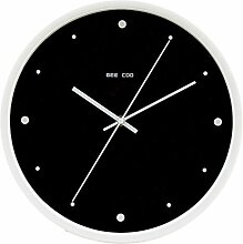 Zhhlaixing Modern Round Silent Wall Clock Home Wall Decoration Stylish Wall Clock