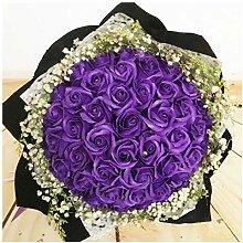 ZHHR Künstliche Blumen, Rose Seife Blume,