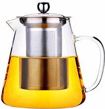 ZHIFENCAO Glasteekanne Gusseisen Teekanne