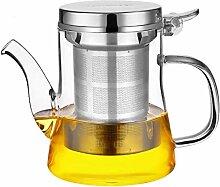 ZHIFENCAO Glasteekanne Teekanne Cup Glas Teekanne