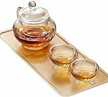 ZHIFENCAO Glasteekanne Teekanne Cup Teekanne Glas