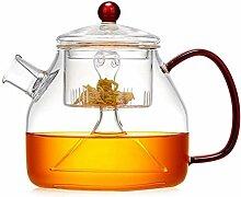 ZHIFENCAO Glasteekanne Teekanne Cup Teekanne