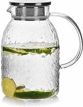 ZHIFENCAO Glasteekanne Teekanne Wasserkaraffe Glas