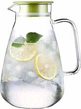 ZHIFENCAO Glasteekanne Wasserkaraffe Glas Teekanne