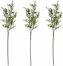 ZHIIHA 3 künstliche Eukalyptusblätter, Spray,