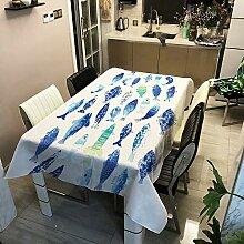 zhimu Tischdecke Tischdecken Tischtuch
