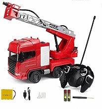 ZHIPENG Modellauto Fire Truck Toy Große